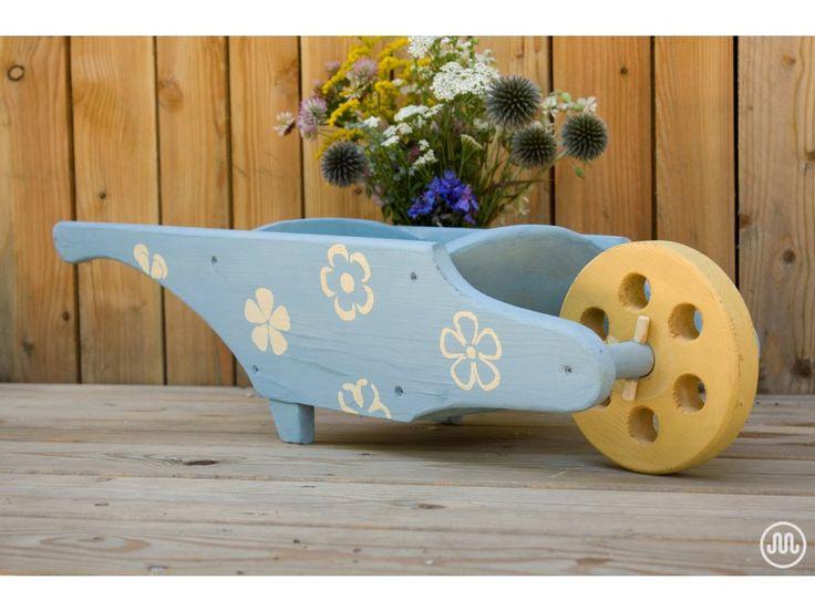 Mléčná barva na dřevo odstín Shannon Slate (modro-šedá) od The Crafty Bird…