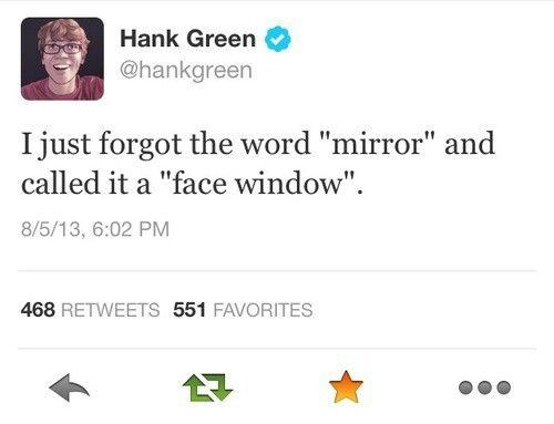 Hank Green, everyone. Everyone, Hank Green. :)