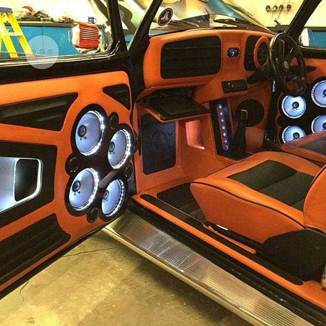 Graffiti Beetle, Beetle inside! beetle vw oxford car audio edition 38 edition 2014 edition prep orange and black interior
