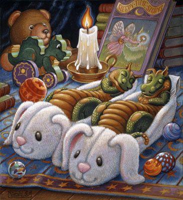 Sleepy Time Mural - Randal Spangler| Murals Your Way