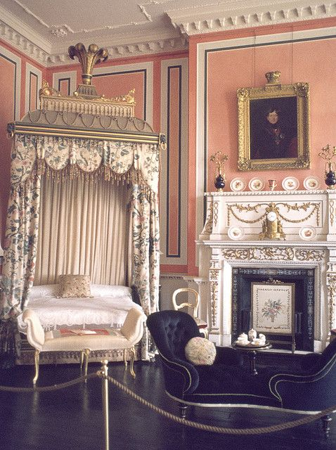 The Prince of Wales Bedroom at Ragley Hall