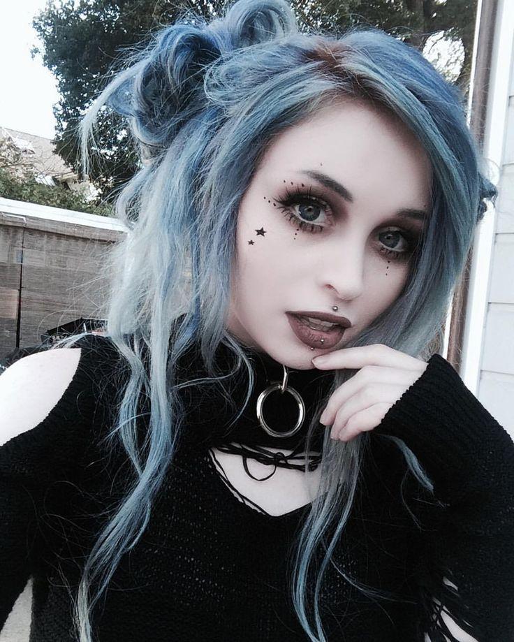 gothic hairstyles ideas