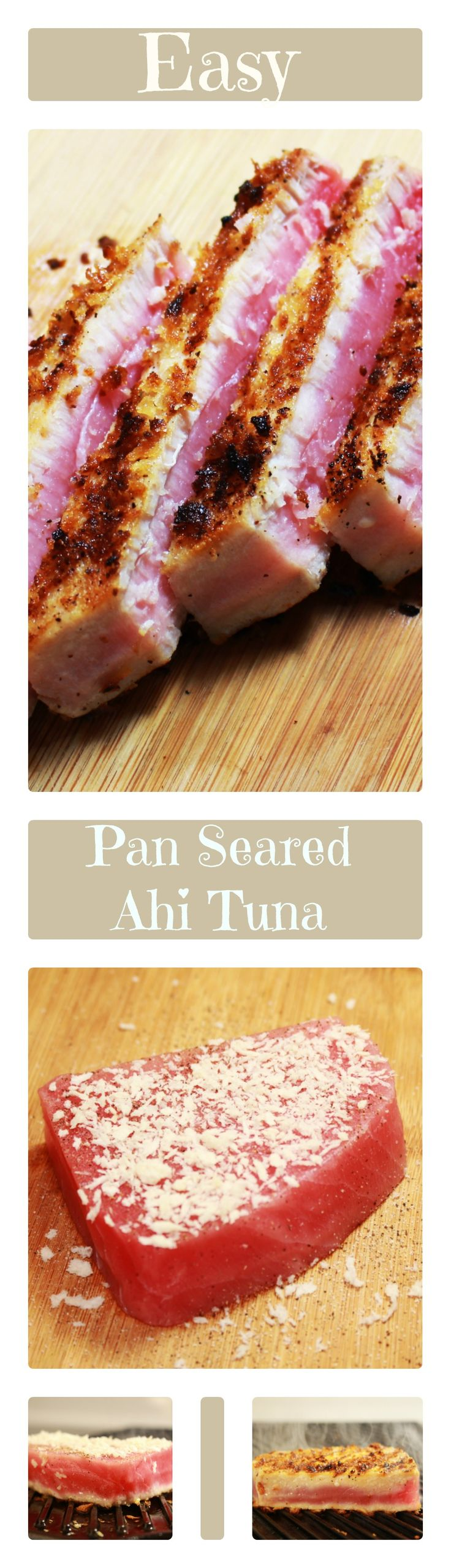 Easy to make Pan Seared Ahi Tuna  |Recipes|Tuna|Seared| Delicious|Clean Eating|