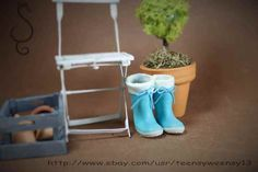 Miniature Rubber Boots Tutorial