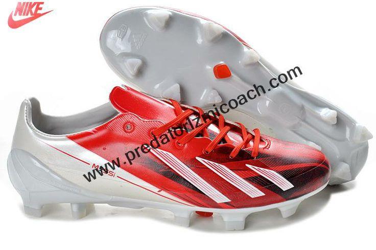 Buy Discount adidas F50 adizero TRX FG TPU LEA Bundle - Red White For Sale