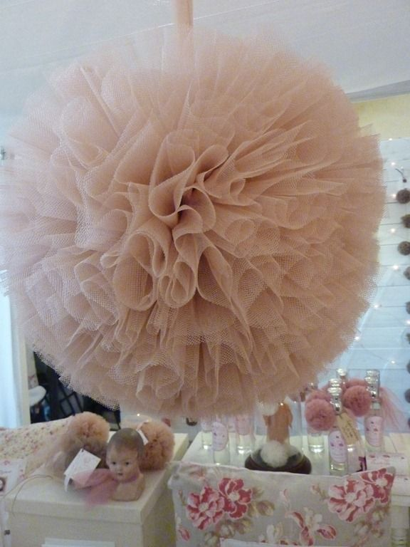 tulle ball Micah white I want a Tulle ball somewhere in the bridal shower please