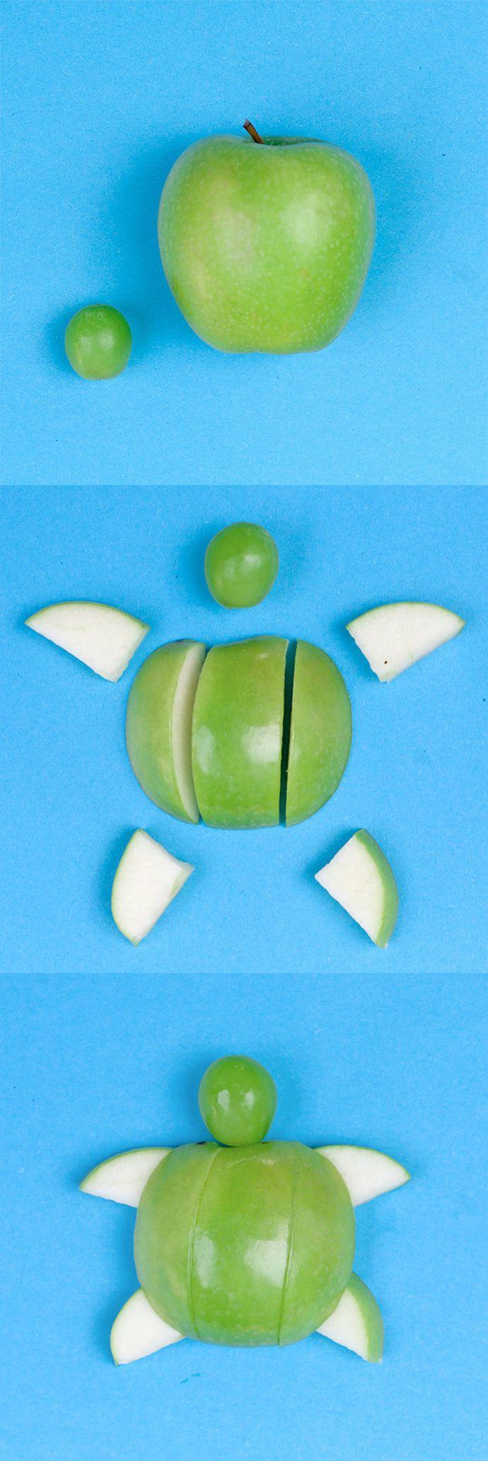 DIY Apple Turtle Snack