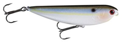 Lucky Craft Sammy Topwater Lure - SM100 - Pearl Threadfin Shad