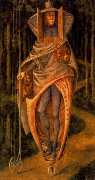 The Vagaond by Remedios Varo