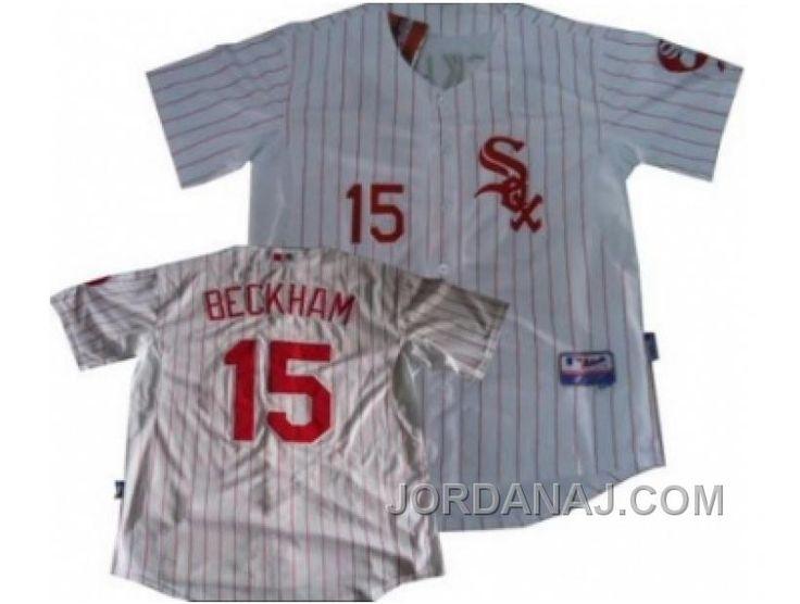 http://www.jordanaj.com/mlb-chicago-white-sox-gordon-beckham-15-white-red-strip-jersey.html MLB CHICAGO WHITE SOX GORDON BECKHAM #15 WHITE RED STRIP JERSEY Only $19.00 , Free Shipping!