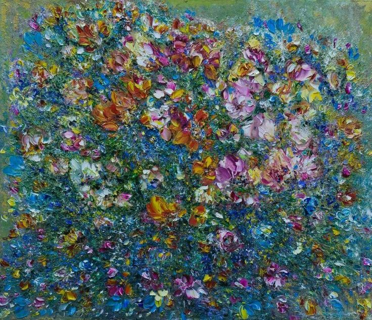 Voorkeur 20 best Flowers images on Pinterest   Abstract flowers, Acrylic  EY17