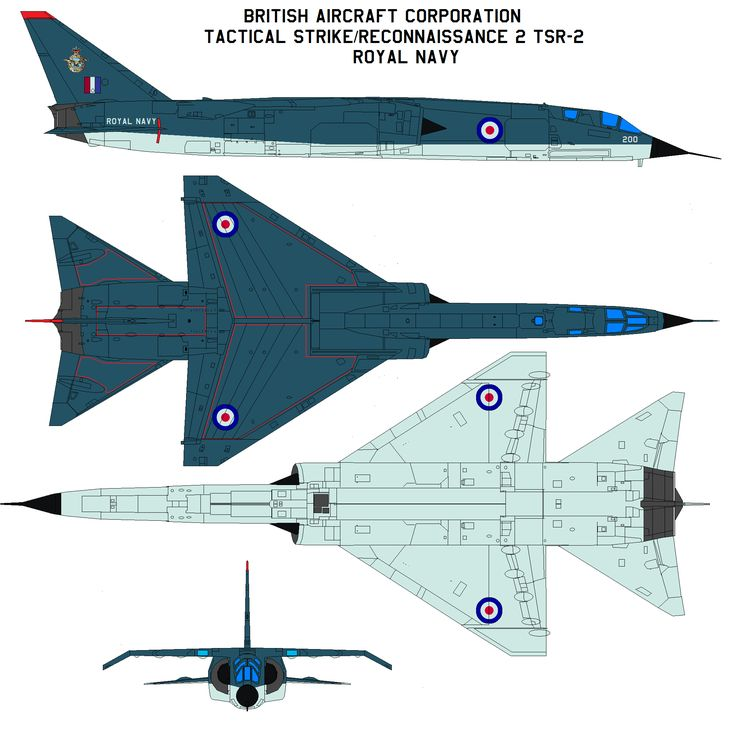 BAC TSR-2 ROYAL NAVY by bagera3005.deviantart.com on @deviantART