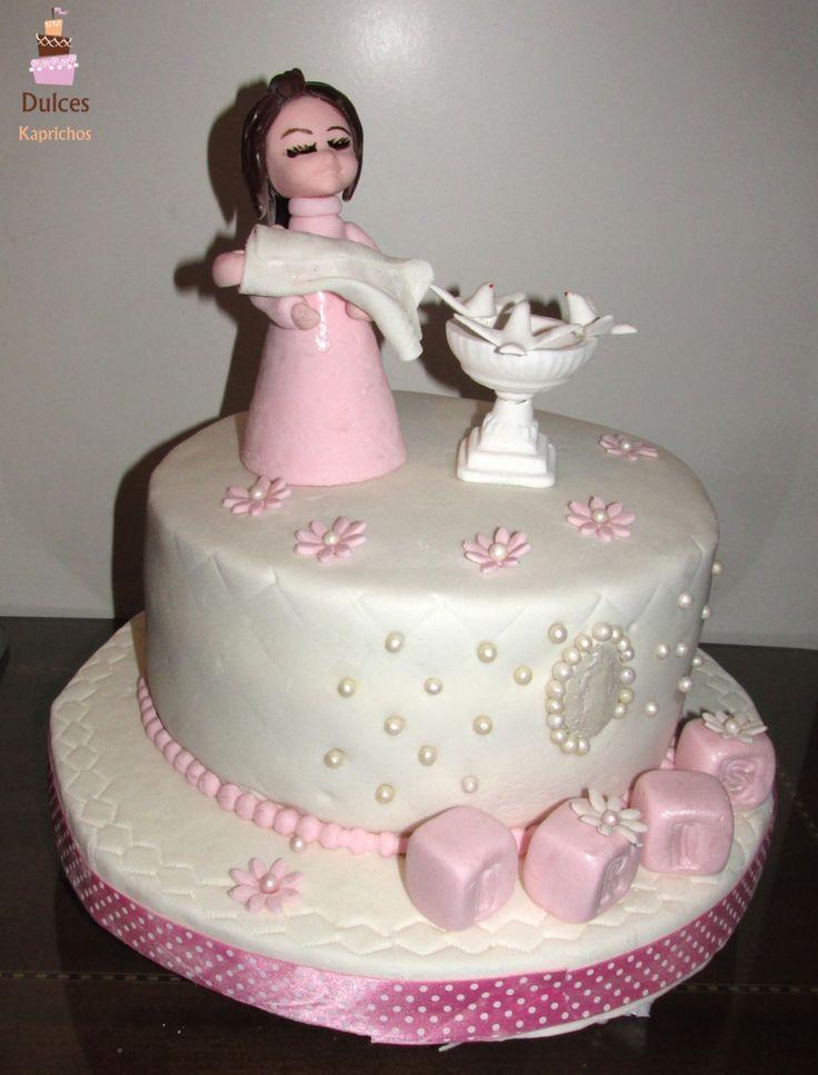Torta Bautizo #TortaBautizo #TortasDecoradas #DulcesKaprichos