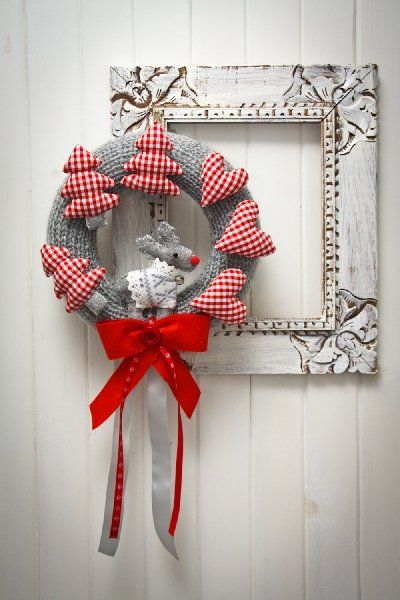 Wianek Świąteczny (proj. Zaczarowany Ogród), do kupienia w DecoBazaar.com