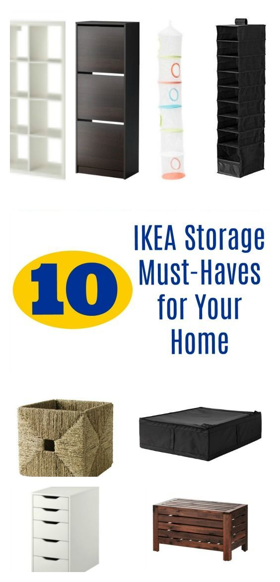 10 IKEA Storage Must-Haves for Your Home