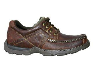 Hush Puppies Mens Shoes Hawkins Brown Grain Leather H12896022 Sz 13 M