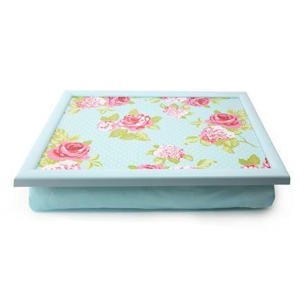Rose and Ellis Clarendon Collection Lap Tray #Dunelm #Decor #Floral #Rose&Ellis