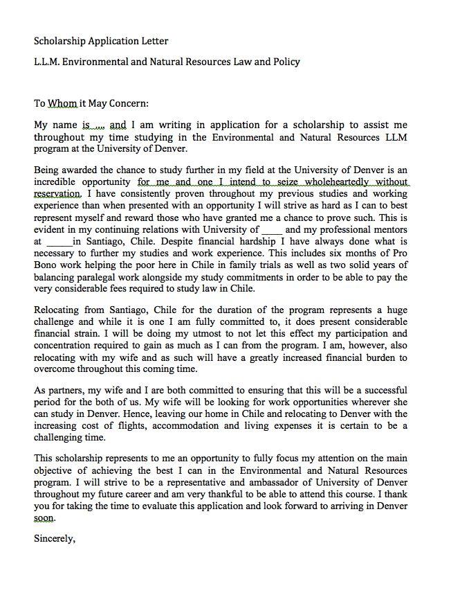 nonprofit cover letter sample