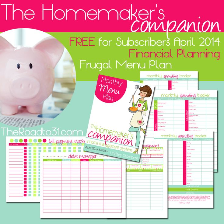 Financial Planning: Financial Planning, Frugal And Printables On Pinterest