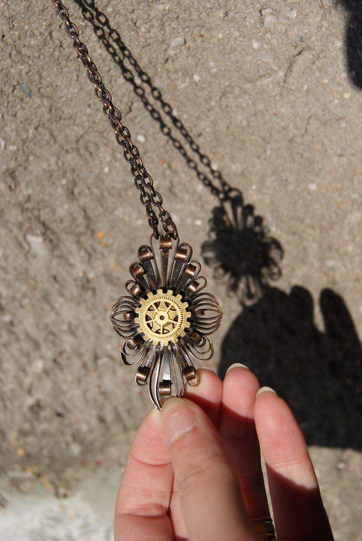 By Petra Slováková #victorian #steampunk #steamgirls #českysteampunk #gears #historical #19th #aristocrat #photo #watchparts #lady #madame #alternative #fashion #brass #costume #dark #emotive #jewels #jewelry #bracelet #cosplay #handmade