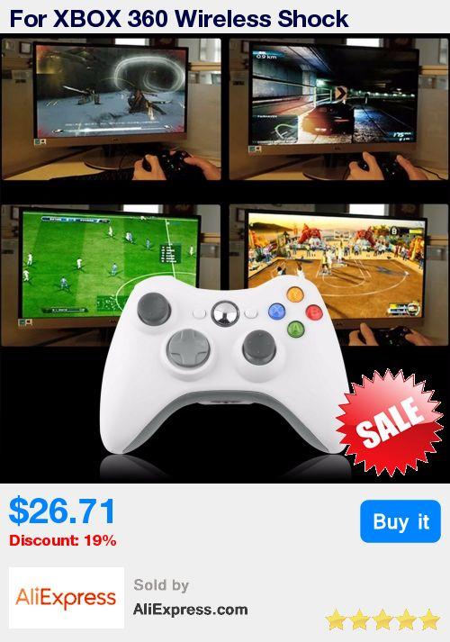 For XBOX 360 Wireless Shock Gamepads Joystick Remote Controller high performance Gaming Gamer Controller * Pub Date: 09:40 Jun 28 2017
