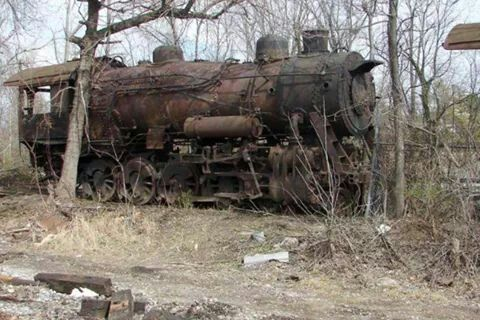 It Fades Away, Abandoned slice of railroad history