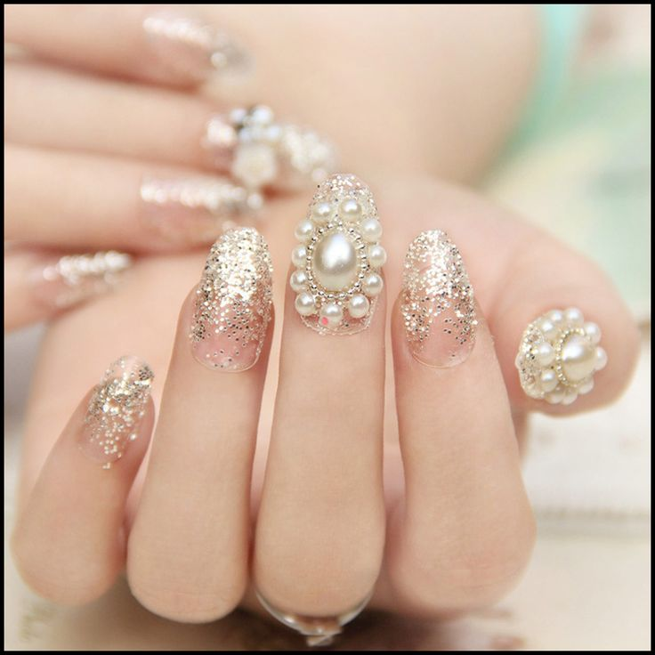 Pearl Nail Art Design Photos - Creative Art Blog - 8 Best Pearl Nails Images On Pinterest Make Up, Accessories And