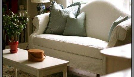 Camel Back Sofa Slipcover