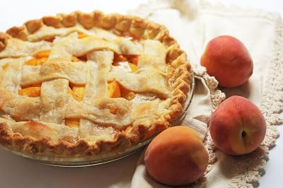 Fresh Peach Pie Recipe & MORE for National Peach Pie Day