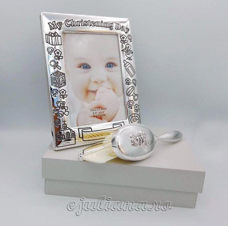 Cadouri argintate botez colectia Juliana