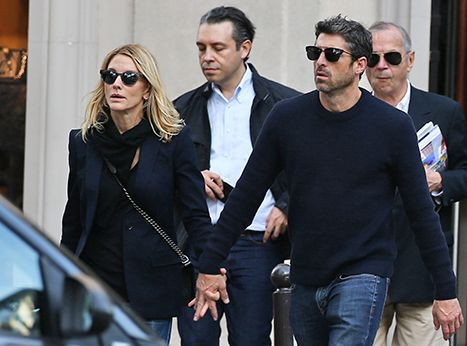 Patrick Dempsey and his estranged wife, Jillian, were seen holding hands during a romantic getaway to Paris. Head to Usmagazine.com for the details!