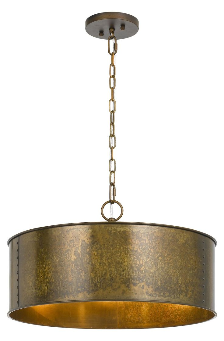 Best 25 drum shade chandelier ideas on pinterest drum shade cal lighting 60w x 3 rochefort metal 3 light chandelier fx 3637 3 arubaitofo Gallery