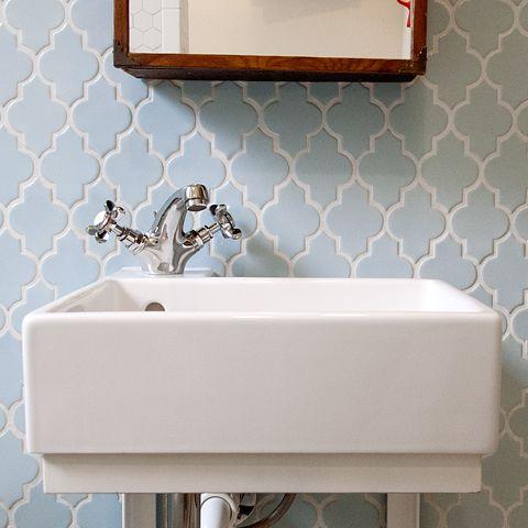 Ikea Lillangen Sink With Apelskar Faucet Upstairs Bath