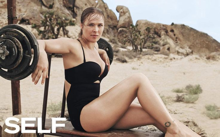 Ronda Rousey Shares Why She's The Best Fighter In The World - SELF