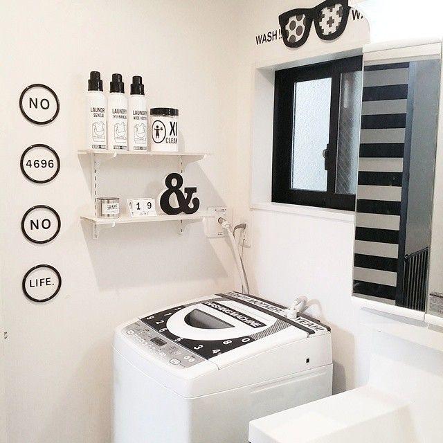 憧れの洗面所はこうやってできる♪絶対マネしたくなる空間&収納テク | iemo[イエモ]