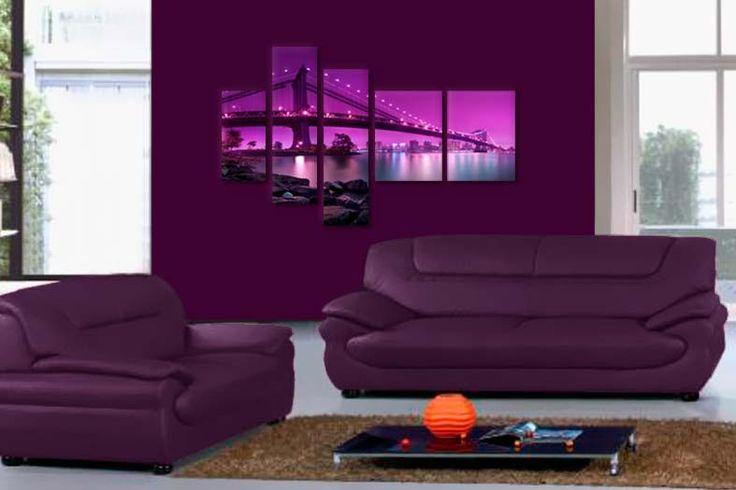 Tablou cu pod in Manhattan 3422  Dimensiuni: 1x 20x40 - 2x 20x70 - 2x 30x40 cm  Total ocupat: 120x80 cm