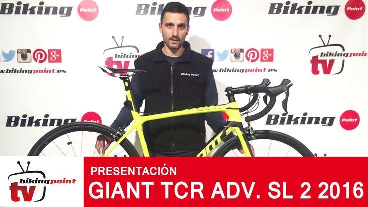 https://youtu.be/cNfTuiOVpvU  Presentamos las nueva Giant TCR Advanced SL 2 2016, una bicicleta de alta gama montada con espectacular cuadro de carbono, un gr