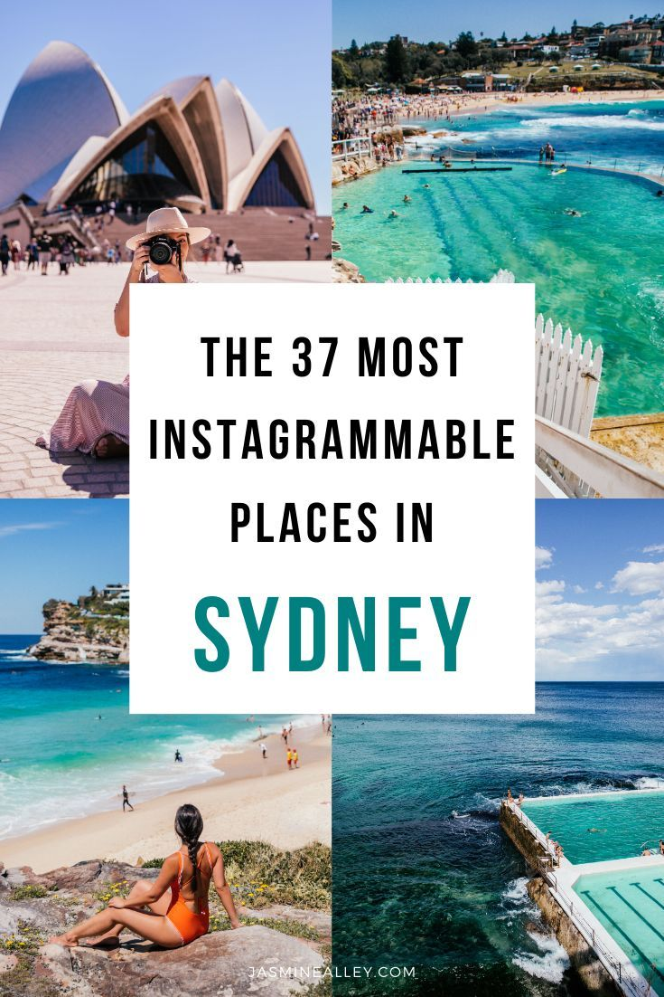 The 37 Most Instagrammable Places In Sydney With A Map Photos Sydney Travel Australia Travel Guide Australia Vacation