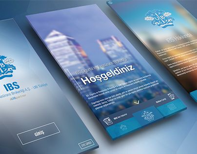 """Check out new work on my @Behance portfolio: """"IBS Mobile"""" http://on.be.net/1IBukHe"""
