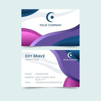 Download Abstract Colorful Business Card Theme For Free Business Card Photoshop Colorful Business Card Free Business Card Templates