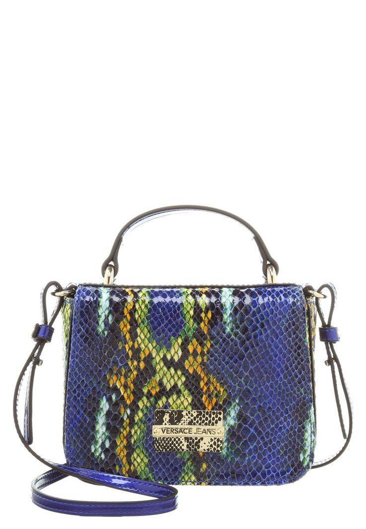Versace Käsilaukku : Versace jeans borse old torebka niebieska wz?r skora w a