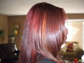 Burgundy Hair With Caramel Highlights My Style