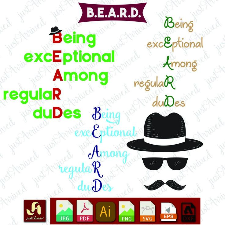 Beard SVG file  Cutting file  Beard  Cutting  SVG  SVG File Man svg  Cricut cut file  Silhouette cut file  Beard lover Instant Download by justArrived on Etsy