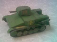 Russian Paper Models - by KartonWagen  This russian site is incredible. There are more than a hundred of military models in scales 1:30 and 1:60, free to download. In each archive .rar, there is at least a dozen of variations of a same vehicle, like colours, accessories and military function.