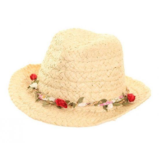 Trilby zomer hoedje voor dames met roosjes. Hawaii of tropisch feestje? Bij Fun en Feest vind je de leukste Hawaii feestartikelen, kostuums en accessoires. Toppers Crazy Summer hoedje tip!