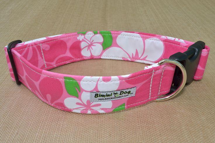 Tropical Dog Collars - Bahama Island collars - Hawaiian bandanas - Pet accessories - Potcake collars Stocking stuffer for dogs