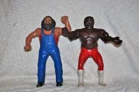 Image result for hard rubber wrestling toys