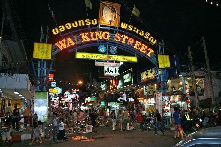 Walking Street Thailand's Partying Street in Thailand (Indian Ocean Island)