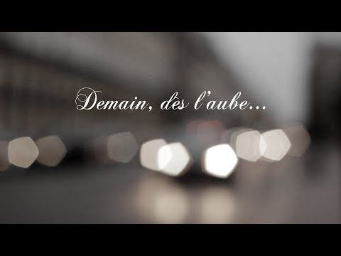Short Film inspired by Poetry : Demain, dès l'aube...   Feel free to follow me here : http://vimeo.com/melodiedauger   Or here : https://www.youtube.com/user/masterdesigner/  or even here : https://www.linkedin.com/in/melodiedauger  ©Mélodie Dauger. All rights reserved