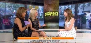 Today Show: Anna Kendrick Pitch Perfect Review & 'Up in the Air'